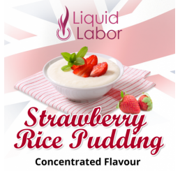 LIQUID LABOR - Strawberry Rice Pudding